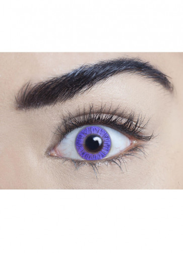 Pure Violet Coloured Contact Lenses - 30 Day Wear