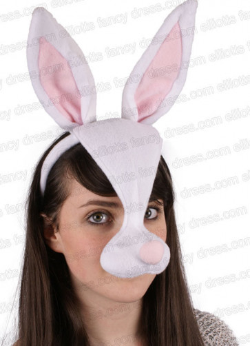 Bunny Rabbit Mask with Sound