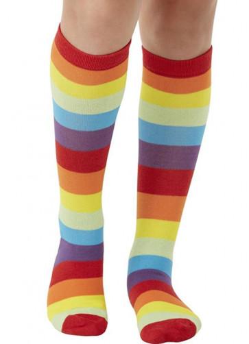 Rainbow Clown Socks Kids Size 11 – 2½