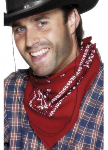 Cowboy Bandana 55cm - Red