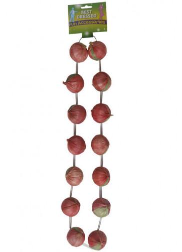 Red Onion Garland - Frenchman 120cm