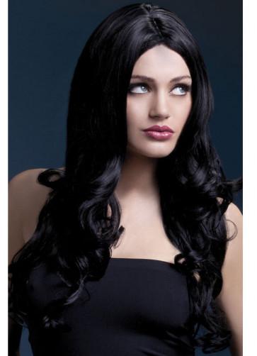 Deluxe Fever Black Rhianne Wig