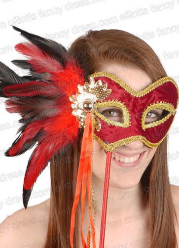 Elegant Flame Eye Mask