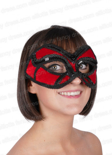 Ruby Eye Mask