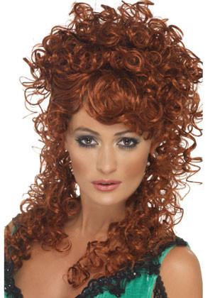 Saloon Girl Ginger Wig