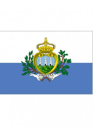 San Marino Flag 5x3
