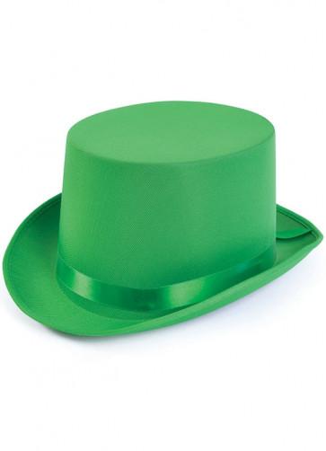 Top Hat (Satin Green)