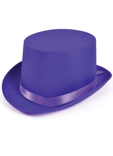 Top Hat (Satin Purple)