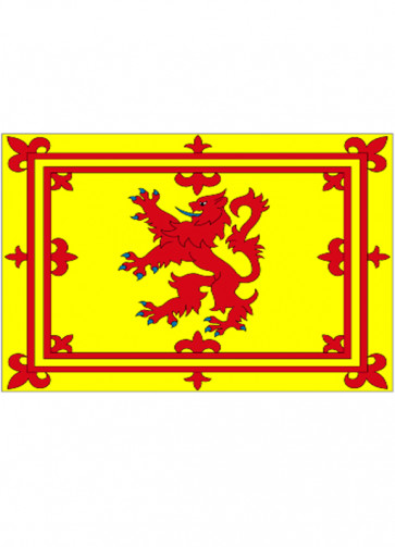 Scotland - Lion Crest - Flag 5x3