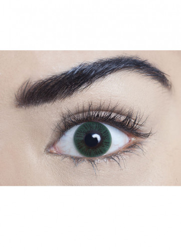Sea Green Coloured Contact Lenses - One Day Wear