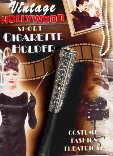Cigarette Holder (Short Silver)
