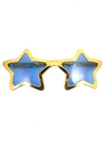 Giant Star Sunglasses (Gold)