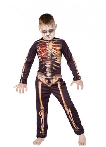 Skeleton (3D Print) (Boys) Costume