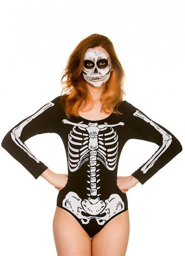 Skeleton Leotard