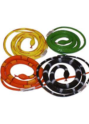 Small Rubber Snake (Assorted Colours)
