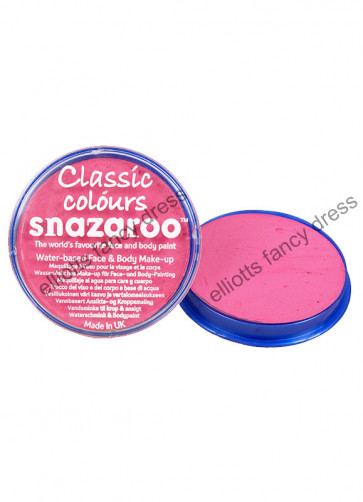 Snazaroo Bright Pink Face Paint - Classic 18ml