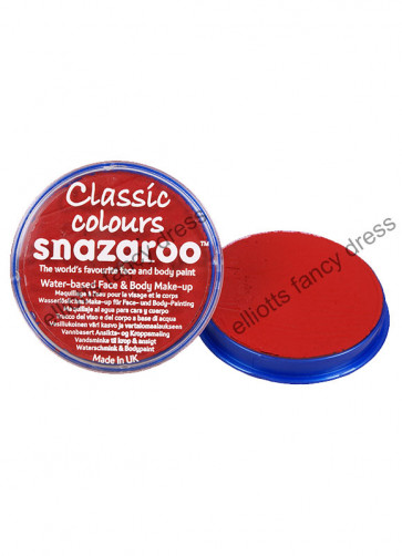Snazaroo Bright Red Face Paint - Classic 18ml