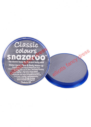Snazaroo Dark Grey Face Paint - Classic 18ml