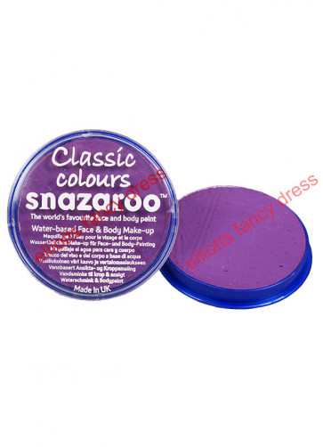 Snazaroo Lilac Face Paint - Classic 18ml