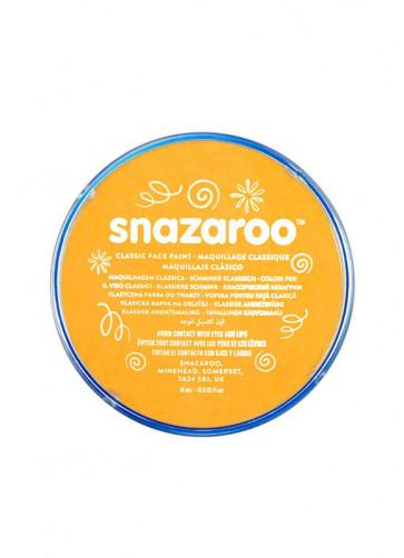 Snazaroo Ochre Yellow Face Paint - Classic 18ml