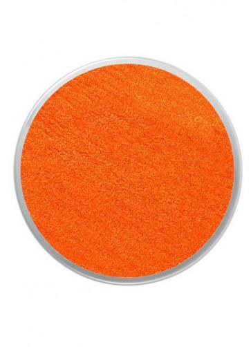 Snazaroo Sparkle Orange Face Paint 18ml