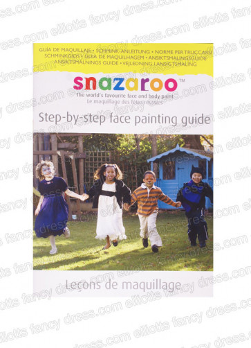 Snazaroo Step-By-Step Face Painting Guide Book