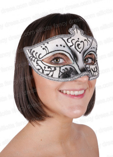 Sophie Black Eye Mask