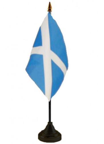 Scotland - St Andrew - Table Flag
