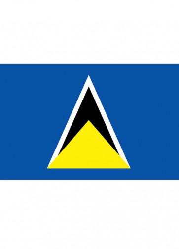 Saint Lucia Flag 5x3