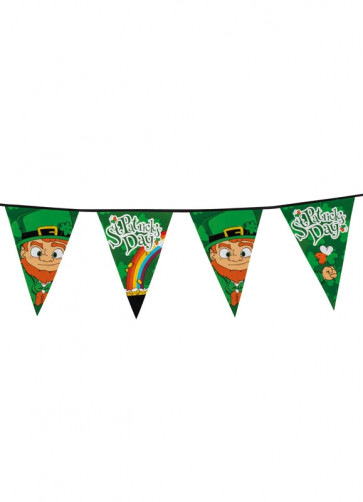 St. Patrick's Day Bunting – 8m