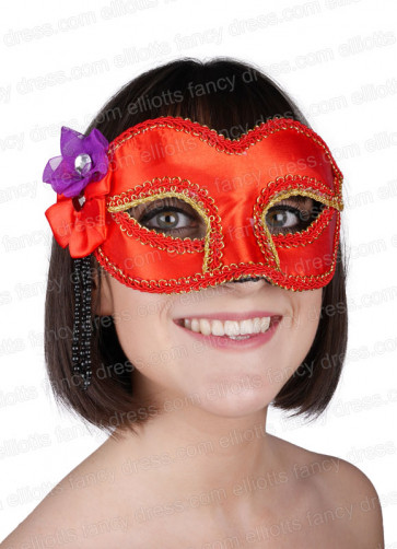 Stacy Red Eye Mask