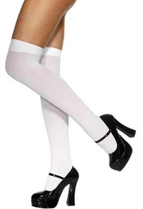 White Stockings - Dress Size 6-14