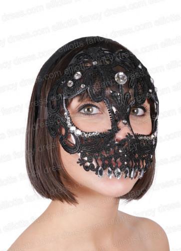 Sugar Skull Eye Mask