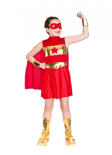 Superhero Girl (Red)