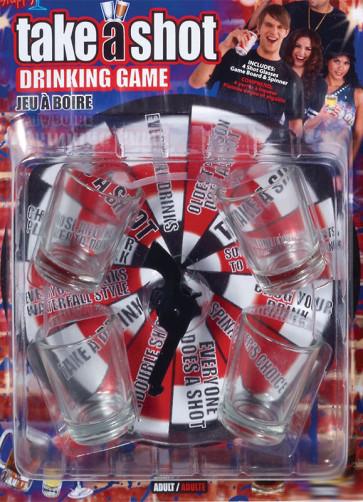 Take a Shot Drinking Game - Spin the Gun