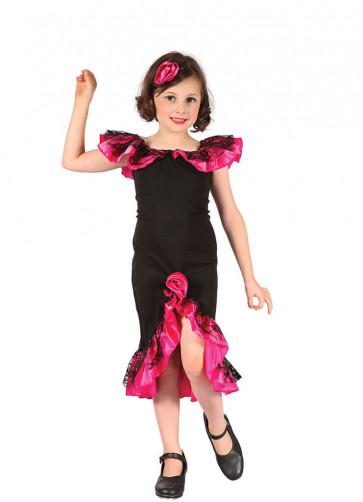 Rumba Girl - Black and Pink (Spanish)