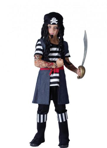 Tattooed Pirate (Boys) Costume