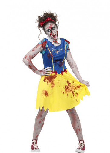 Zombie Miss-Snow Costume