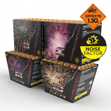 Firework (CAKE) Terminator Assorted - One Only