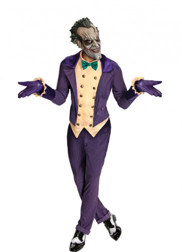 The Joker Costume - Deluxe - Batman Arkham City