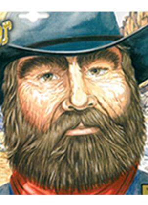 Miner Beard 49 Black