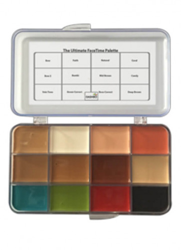 The Ultimate Face Time Palette (Alcohol Activated)