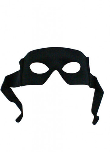 Tie (Bandit) Best Black Eye Mask