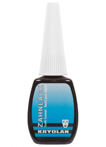 Kryolan Tooth Enamel - Black 12ml
