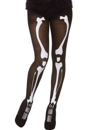 Skeleton Tights - Dress Size 6-14
