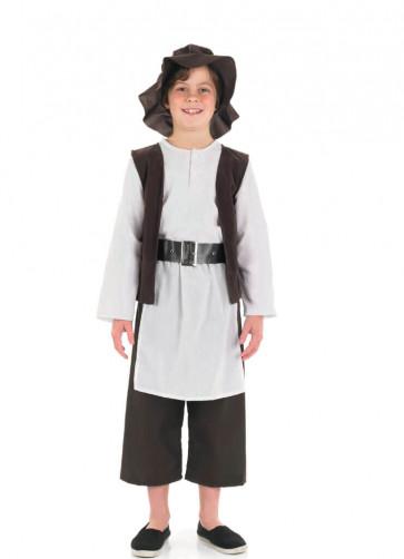 Tudor Kitchen Boy Costume