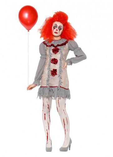 Dancing Vintage Clown Lady