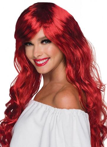 Vixen Wavy Passion Red Wig