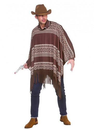 Western cowboy Poncho
