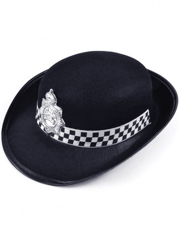 WPC Black-Police Ladies Hat